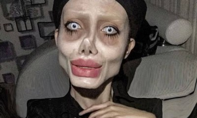 Lady who did 50 surgeries to look like Angelina Jolie contracts Coronavirus