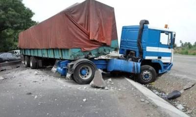 Tears as truck crushes motorcyclist to death in Ogun-TopNaija.ng