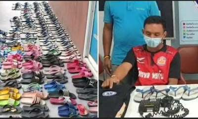 Man steals 126 shoes to 'kiss, cuddle and have sex with them'