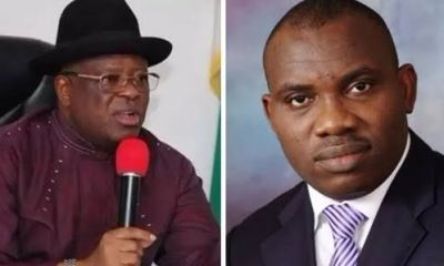 Governor Umahi, ex-SSG trade words over N2bn agric loan