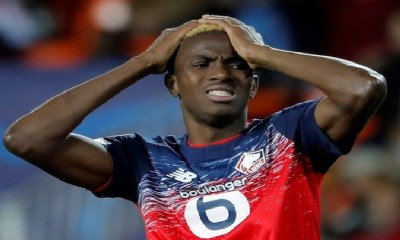 Super Eagles striker, Victor Osimhen loses father