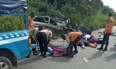 Lagos-Ibadan Expressway accidents leaves 3 dead, 14 injured