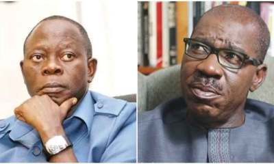 Court stops Edo govt from arresting Oshiomole over fraud indictment