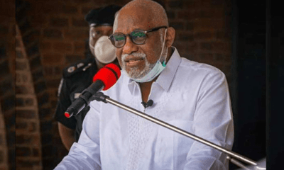 Rotimi Akeredolu tests positive for COVID-19