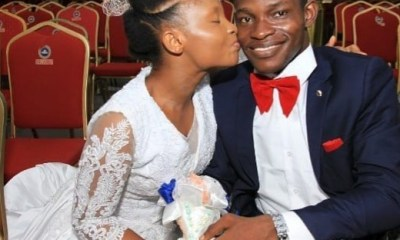 Physically challenged man hits back at those saying his wife married for money topnaija.ng