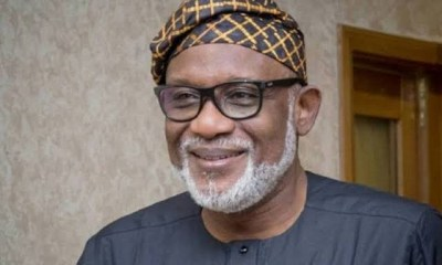 Rotimi Akeredolu tests negative for COVID-19