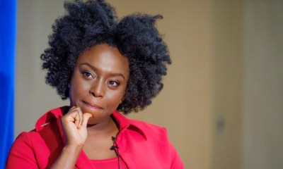 Bestselling author Chimamanda Ngozi Adichie at HCLS Miller Branch.