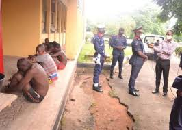 How NSCDC captured 8 suspected motorcycle thieves in Oyo topnaija.ng