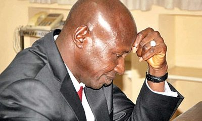 Policemen search Magu's house as he spends second night in custody topnaija.ng