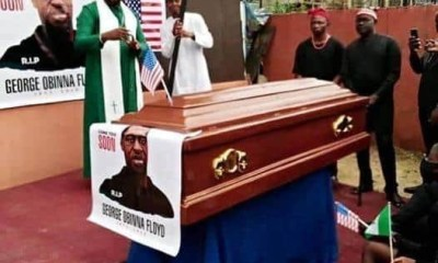 Meet Nigerian pastor who reburied George Floyd in Imo topnaija.ng