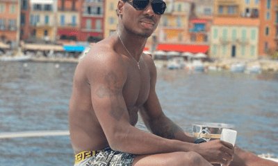 Odion Ighalo goes shirtless in new holiday photos topnaija.ng