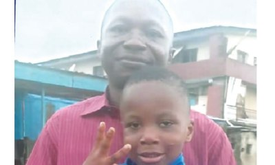 Banker reunites with son after 4 years' war with father-in-law topnaija.ng