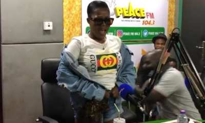 Ghanaian singer nearly shows pubic hair as proof she's not going grey
