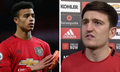 Harry Maguire, Mason Greenwood named in England national team squad