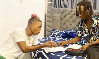 Naira Marley welcomes Lyta to Marlian Music
