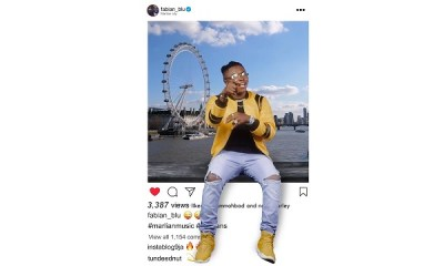 Fabian Blu – Instagram video