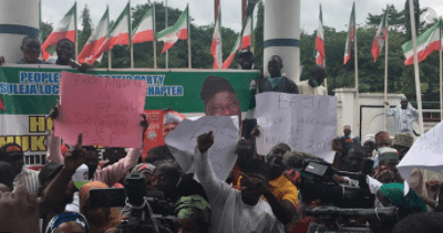 PDP abuja protest