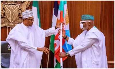 Akeredolu meets Buhari, asks deputy governor to resign