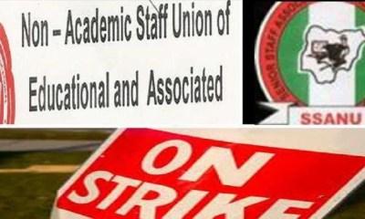 SSANU, NASU strike