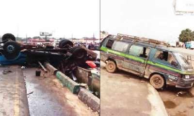 Trucks rams into faulty bus Onitsha