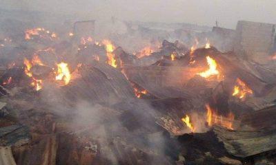 fire razes Benue market again