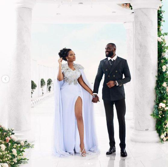 BBNaija's Khafi and Gedoni wedding (photos) 2