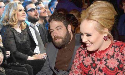 Adele kiss Simon Konecki