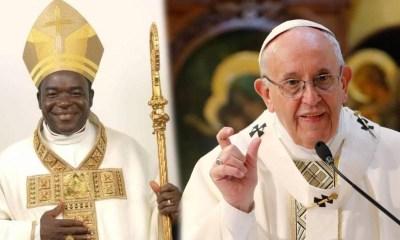 Bishop Hassan Kukah pope francis