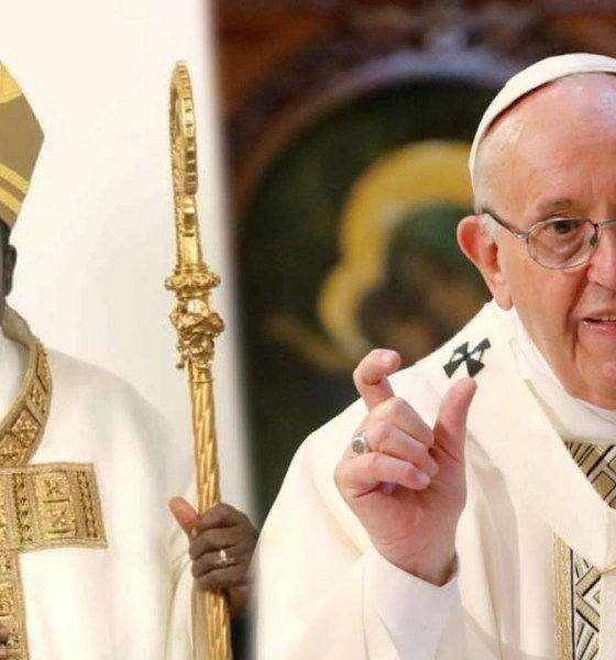 Bishop Hassan Kukah pope francis