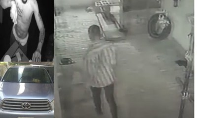 How CCTV footage captured face of suspected thief who raided a House in Lekki-TopNaija.ng
