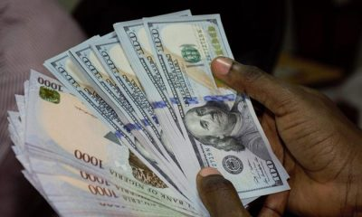 Naira-Vs-Dollar-exchange rate nigeria black market topnaija.ng