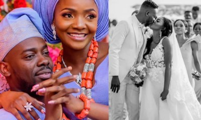 Simi and Adekunle Gold, celebrate 2nd wedding anniversary