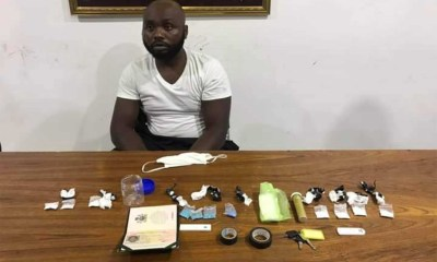 Nigerian man arrested with drugs in Thailand-TopNaija.ng