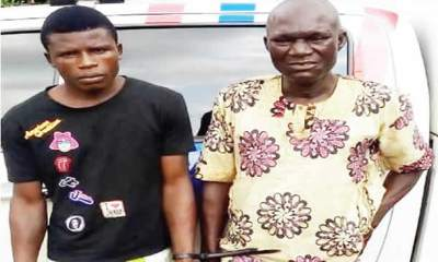 Two traffic robbers nabbed in Lagos