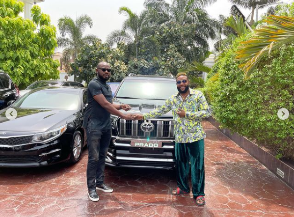 E-Money gifts his friends luxury cars on his birthday 1.png 2