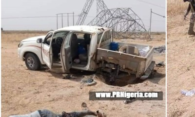 Electricity workers injured by Boko Haram landmine in Borno 1