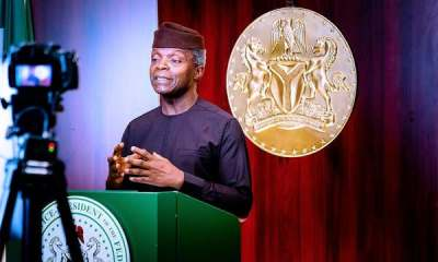 Osinbajo calls for tough regulation of cryptocurrency, not prohibition Top Naija