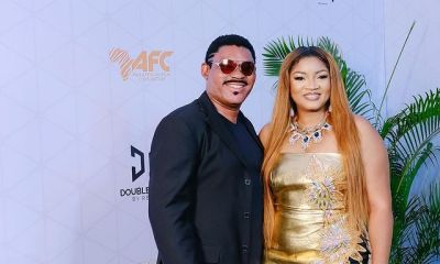 Omotola Jalade celebrates hubby as he turns a year older
