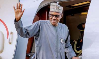 JUST IN: Buhari departs to London for medical checkup, summit