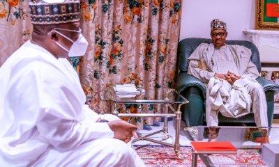 Buhari, Lawan hold critical meeting before medical trip to London