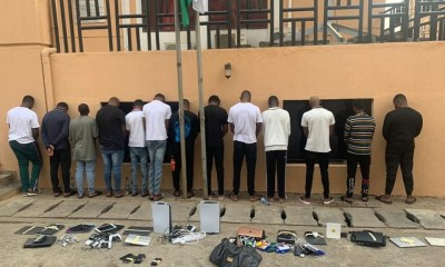 EFCC arrest 13 suspected internet fraudsters in Abuja-TopNaija.ng