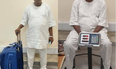 Suspected notorious drug trafficker arrested with 3 parcels of cocaine at Lagos airport [PHOTOS/VIDEO]-TopNaija.ng