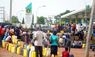 Petrol scarcity continues, transport fares increase by 100% Top Naija