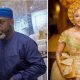 The romantic moment when Funsho Adeolu begs Nollywood actress, Iyabo Ojo for a chance of love