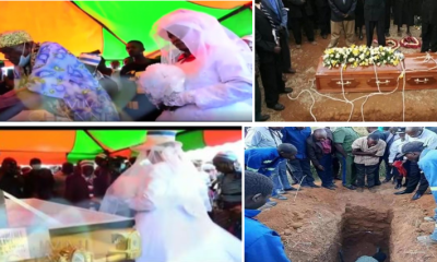 Shocking! Saddened woman remarries her husband's corpse [VIDEO]