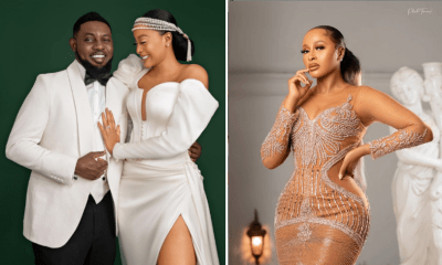 Nigerian comedian, AY flaunts beautiful pictures of his wife on her birthday [PHOTOS]
