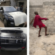 Comedian, Mr Jollof dances at the arrival of his new Range Rover[VIDEO]