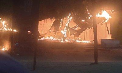 Angry mob set ablaze Zamfara NUJ shopping complex -TopNaija.ng