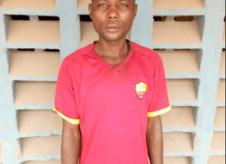 Police arrest man for allegedly raping 4-year old daughter of his co-tenant in Ogun [PHOTO]-TopNaija.ng