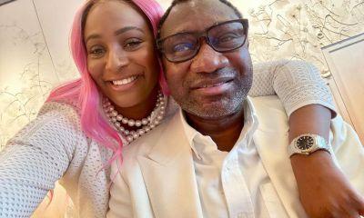 Billionaire, Femi Otedola reveals how proud he is of his daughter, DJ Cuppy's achievements